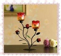 Candlestick decoration2pcs