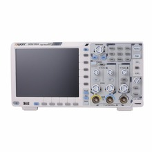 OWON XDS2102A 2 канала глубокой памяти ЖК-дисплей цифровой осциллограф для хранения Scopemeter 100 МГц 1GSa/s