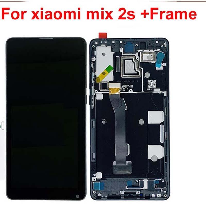 Original For Xiaomi Mi Mix 2S LCD Display 10 Touch Screen Panel XAIOMI Mix2S LCD Digitizer