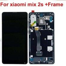 Original Für Xiao mi mi mi x 2S LCD Display 10 Touch Screen Panel XAIO mi mi x2S LCD digitizer Assembly Ersatzteile + Rahmen