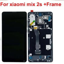 Original For Xiaomi Mi Mix 2S LCD Display 10 Touch Screen Panel XAIOMI Mix2S LCD Digitizer Assembly Replacement Parts +Frame