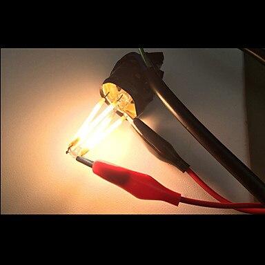 Купить с кэшбэком Filament Candle Light Bulb E14 220V 4W C35 Edison Bulb Retro Antique Vintage Style White Warm White 360Degree LED Filament light