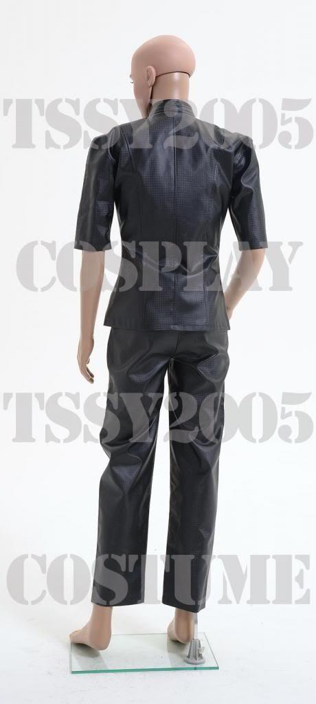 Resident Evil Combat uniform Albert Wesker Cosplay Costume Any Size