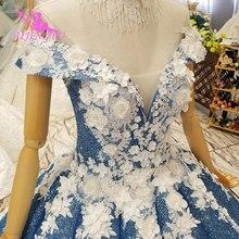 Блестящее свадебное платье AIJINGYU, свадебная одежда, элегантное современное реальное фото, Короткое свадебное платье в стиле Саудовской Аравии, 2021, 2020
