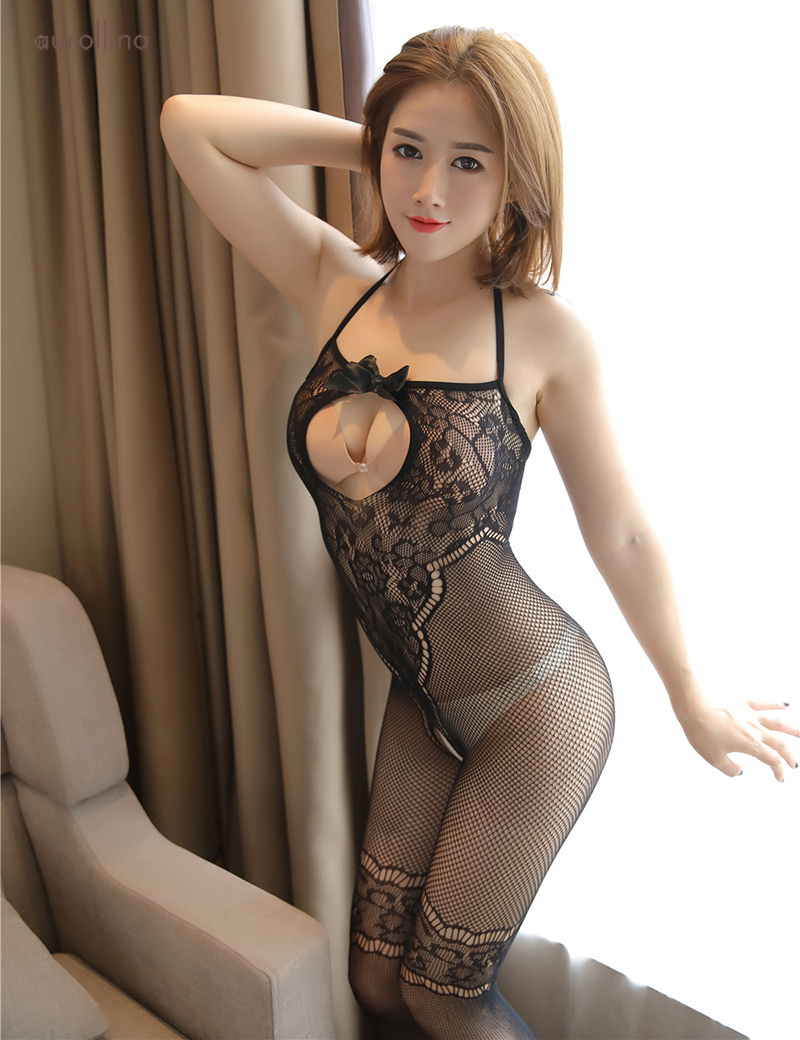 Wild  Japanese AV Star Teacher Home Tutor Stocking Pantyhose Adultery Fashion Dress Open Back Lace Detail Thigh Band Fishnet Sexy Toe Nail Festism Bodysuit (7)