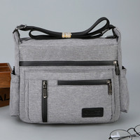 2019 Men Casual Handbag Business Shoulder Bags Hand Bag Multifunction Male Satchel Nylon Travel Crossbody Bag sacoche homme