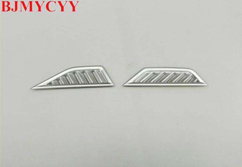 BJMYCYY Car Accessories For Volkswagen VW Tiguan Second Generation 2017 ABS Matte Interior Air Conditioning Vent Cover Trims