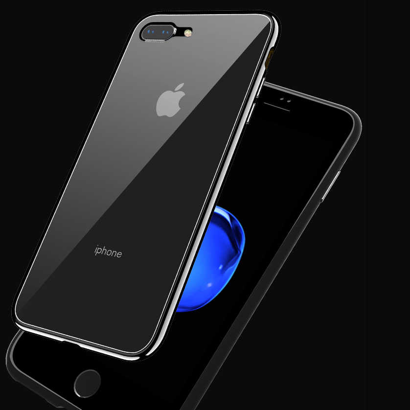 5e2af9d867 ... Clear 360 Magnetic Adsorption Flip Case For iphone 7 iphone 6 s 6s plus  Coque Cover ...