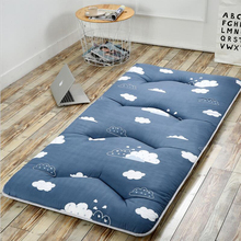 Thickened Foldable Bed Mattress Pad Sheets Topper Soft Breathable Soft Comfortable Tatami 8cm Bed Mattress
