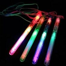 HBB 1 шт. детский многомодельный мигающий светодиодный стробоскопический светильник мигающие палочки детские светящиеся игрушки для концертов Вечерние
