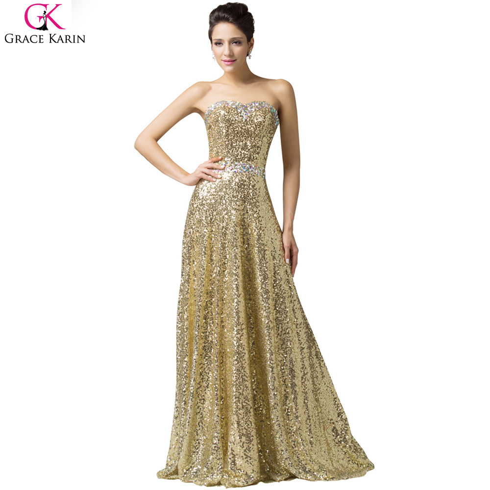 Popular Luxury Gold Evening Gowns-Buy Cheap Luxury Gold Evening ...