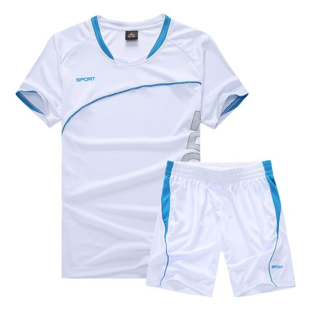 453eb9788 Soccer Jersey Sports Costumes for Kids Clothes Football Kits for Girls  Summer Children's Suits Boys Clothing Boys Sets Uniforms.