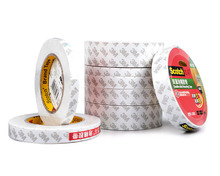Tape 3M Scotch Strong Adhesive Powerful Double-Sided Tape White High Efficiency Mounting Tape Office School Supplies 320C цена 2017