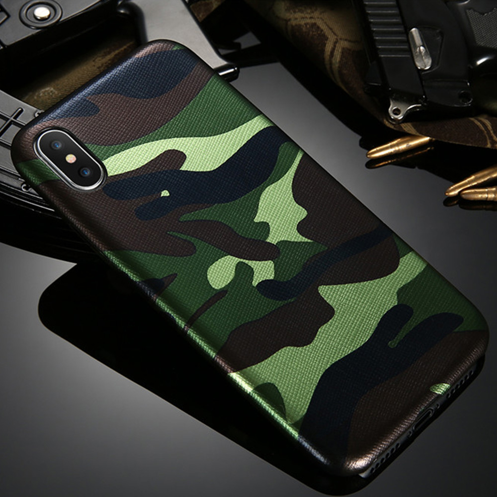 free shipping 4079a 964ab US $2.89 40% OFF KISSCASE Camouflage Cases For iPhone X 5 5S SE 8 7 6 6S  Military Fashion Phone Covers For iPhone 6 6s 7 8 Plus X 10 Soft Shells -in  ...