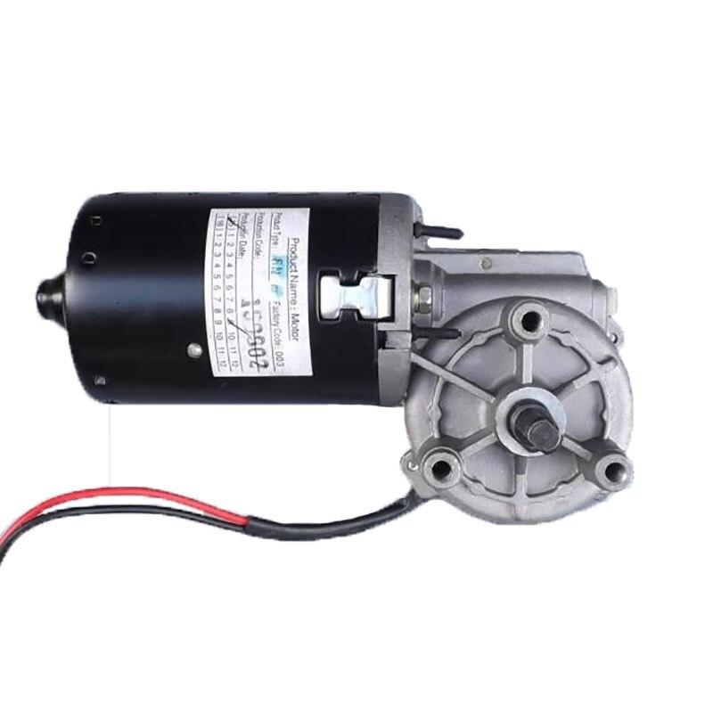Turbine Worm Deceleration 12V 24V DC Gear Motor Self Locking Function Forward Reversal mini Hoist