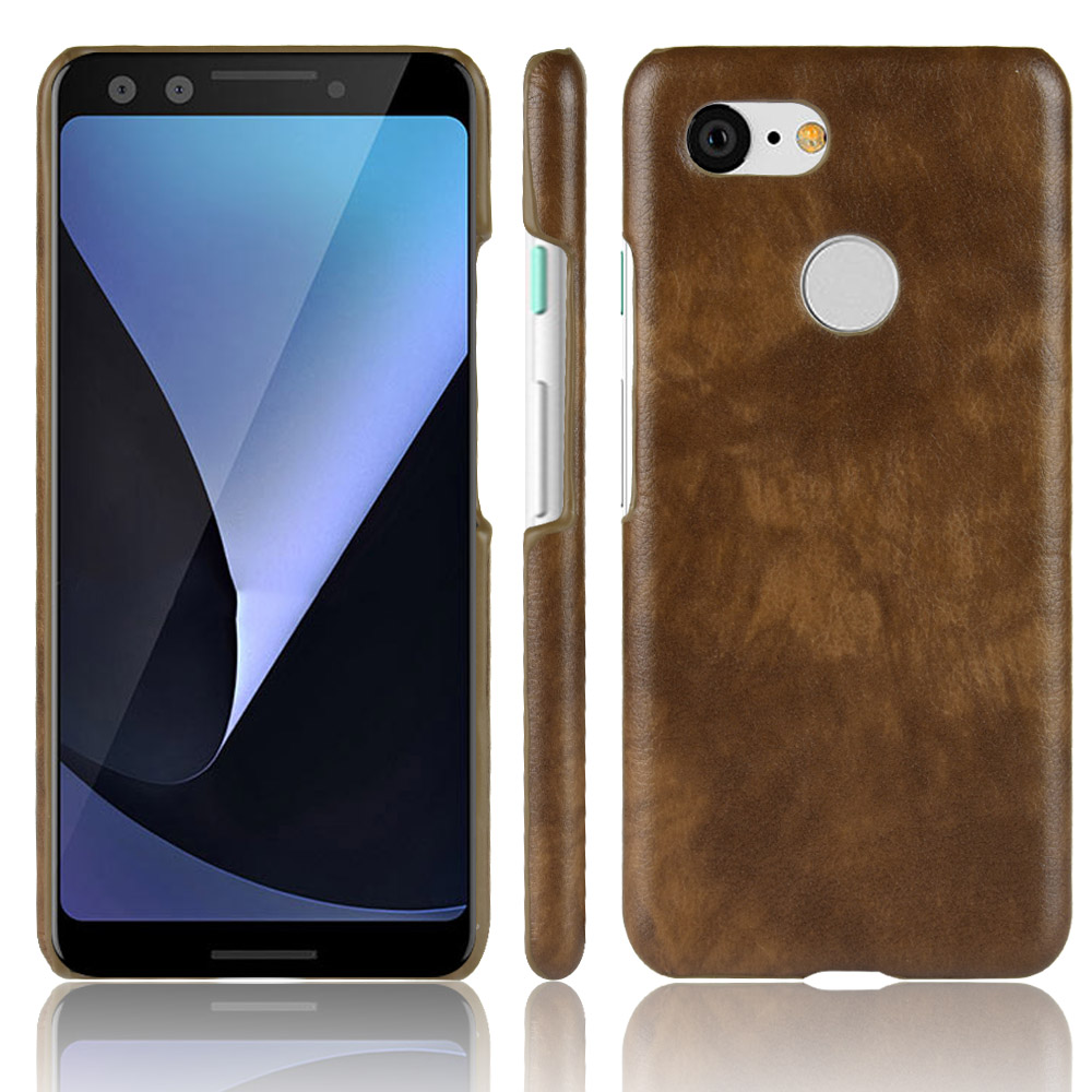 Luxury Business Litchi Skin Retro Leather Case For Google Pixel 3 Cover  Shockproof Hard Shell Google Pixel 3 Phone Cases Fundas