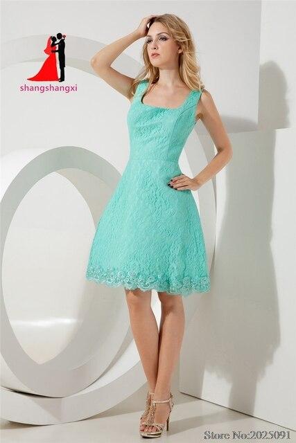 Vestido de renda verde aliexpress