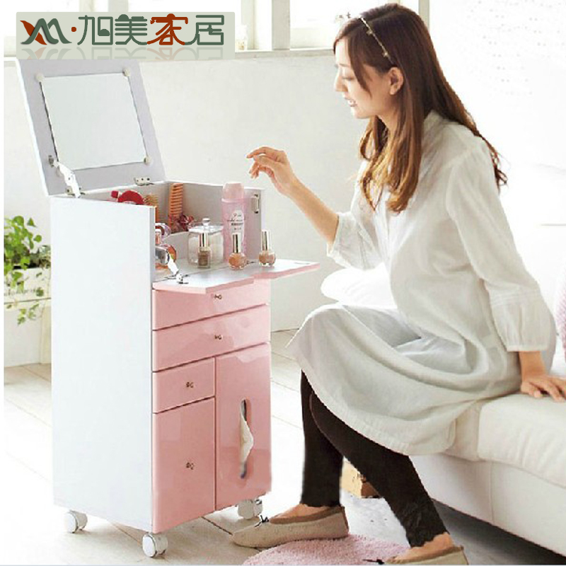 Xu Mei Anese Wood Cabinets White Makeup Vanity Tables Flip Multifunctional Mini Studio Storage Specials In Children From Furniture On