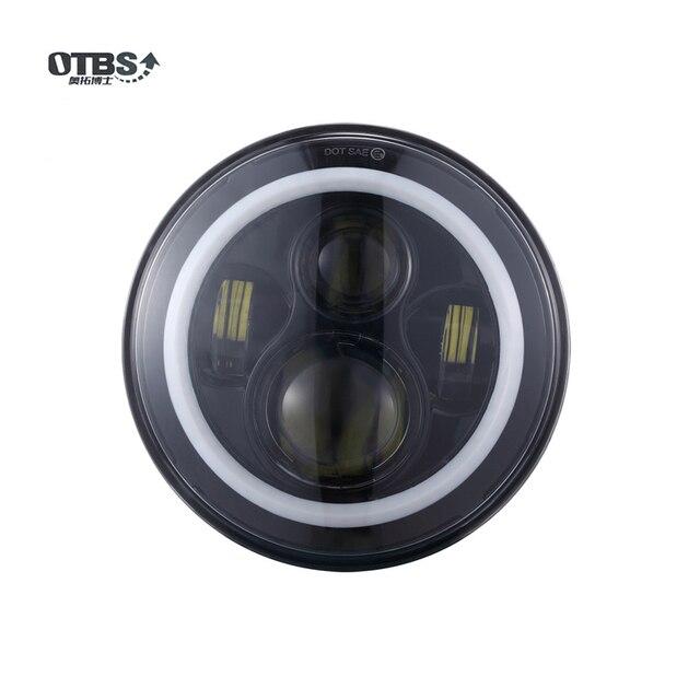 OTBS-feux antibrouillard pour Harley, Ultra classique, Electra slide, Ultra Street slide, 7 pouces phare LED 4.5 pouces