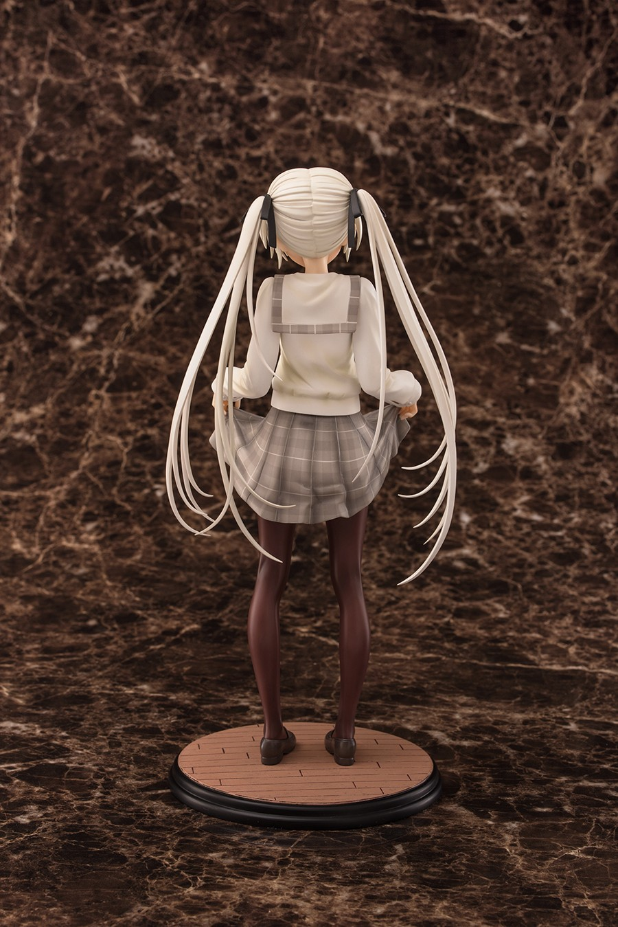 25CM 1/6 Scale Game In Solitude Kasugano Sora School Uniform Ver Model PVC Sexy Adult Collection Gift Doll Anime Action Figure ложка сервировочная laracook цвет зеленый длина 32 см