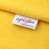 Custom Nähen label, Handgemachte Tags, Benutzerdefinierte kinder Name Etiketten, Baumwolle Band etiketten, logo Etiketten (MD0011)