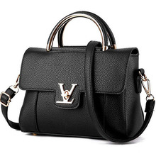Women Handbag New Female PU Leather Messenger Handbags Exquisite Women Portable Shoulder Borse Bag Top-handle Bag Bolsa Feminina