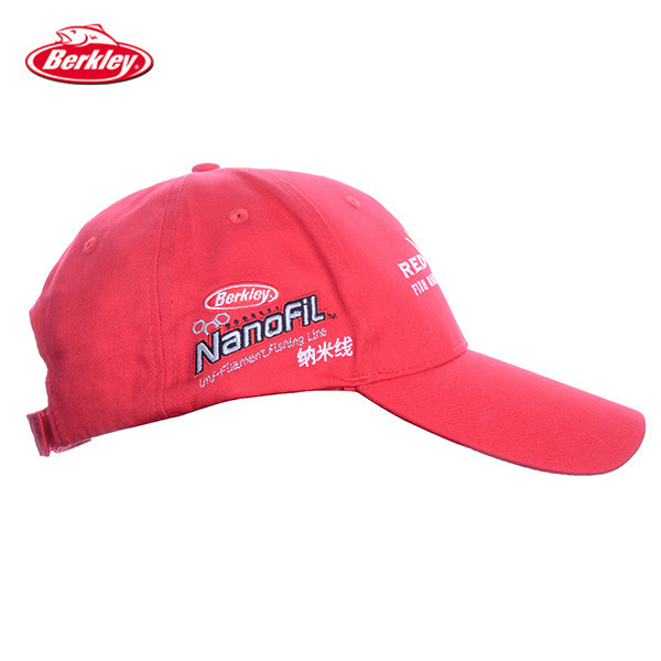 3f055f26691e6 Berkley Brand Redwolf Red color Adjustable Unisex Outdoor Sports Fishing  Cap Snapback Hat Visor Fashion Golf Baseball Cap-in Holidays Costumes from  Novelty ...
