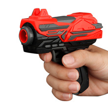 цена Soft Bullet Toy Gun Long Range Shooting Manual Mini Pistol Dart Blaster Airsoft Gun Outdoor Kids Weapon Children's Birthday Gift в интернет-магазинах