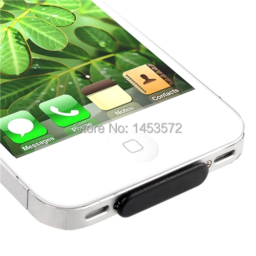 Anti-dust Dock Plug Protector Stopper For Apple iPhone 4 4G 32GB 4S Gen iOS HD