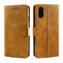 for Samsung Galaxy Note 10 Case Calf Grain PU Leather Flip Stand Wallet Magnetic Buckle Cover for Samsung Note 10 plus Card Case цена в Москве и Питере