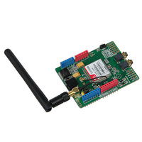 Updated SIMCOM SIM900 Module Quad Band Wireless GSM GPRS Shield Development Board For Arduino Free Shipping