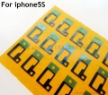OEM For iPhone 5S Genuine Original 20 Pcs/lot Home Button Flex Foam Pad Padding Gasket Sponge Sticker Repair Part Free Shipping