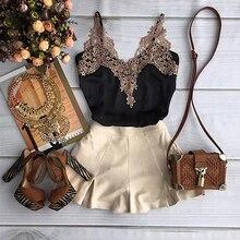 2016 neue Produkt Sexy Frauen Sommer Sleeveless Spitze Casual Short Kleid