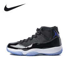 f798057786a372 Original New Arrival Authentic Nike Air Jordan 11 Space Jam Breathable  Men s Basketball Shoes Sports Sneakers. US  122.04   Pair Free Shipping