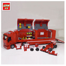 IN STOCK LEPIN 21010 914pcs Technic Super Racing Car Series The Red Truck Set Educational Building