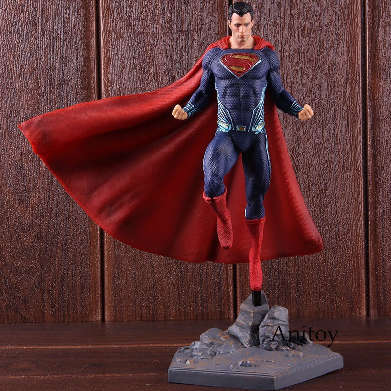 Image 3 - DC Superman Figure IRON STUDIOS Justice League Superman Action Figure Super Man PVC Collectible Model Toy-in Action & Toy Figures from Toys & Hobbies