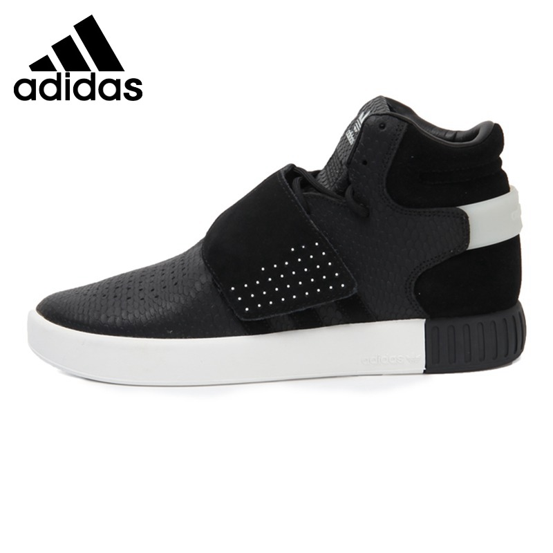 half off 3bd2c 06f61 US $145.08 22% OFF|Original New Arrival Adidas Originals TUBULAR INVADER  STRAP Men's Skateboarding Shoes Sneakers-in Skateboarding from Sports & ...