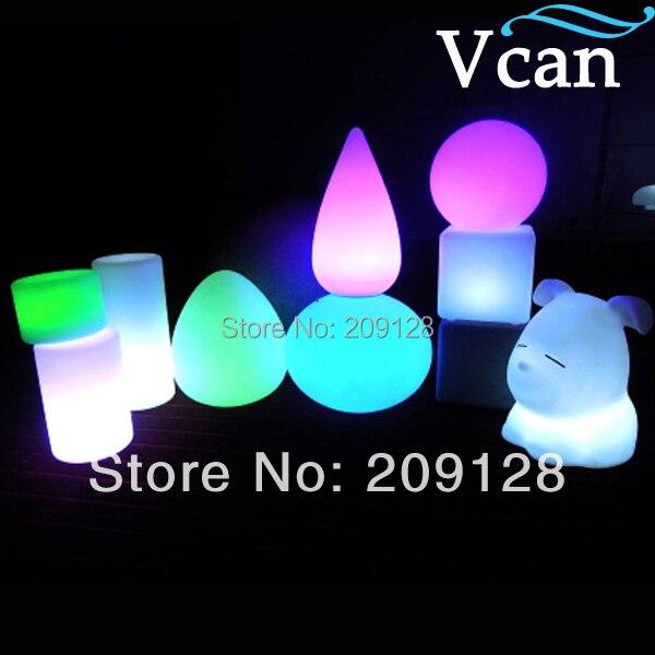 Işıklar ve Aydınlatma'ten LED Ampüller ve Tüpler'de 16 renk değişimi rgb uzaktan kumandalı led düğün ışıkları VC B1624 title=