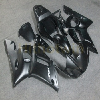 Custom motorcycle article for YZF R6 1998 1999 2000 2001 2002 YZF-R6 motor panels+Bolts+silvergray ABS fairing