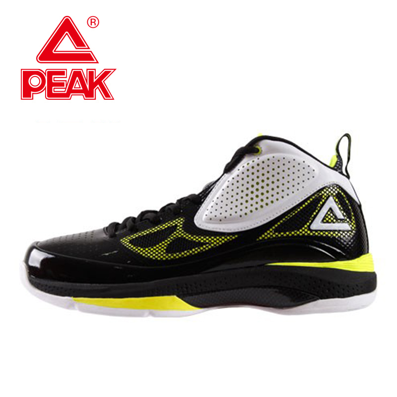 PEAK SPORT Challenger Men Basketball Shoes Competitions Breathable Ankle Boots Gradient Dual FOOTHOLD Tech Athletic Sneakers peak sport hurricane iii men basketball shoes breathable comfortable sneaker foothold cushion 3 tech athletic training boots