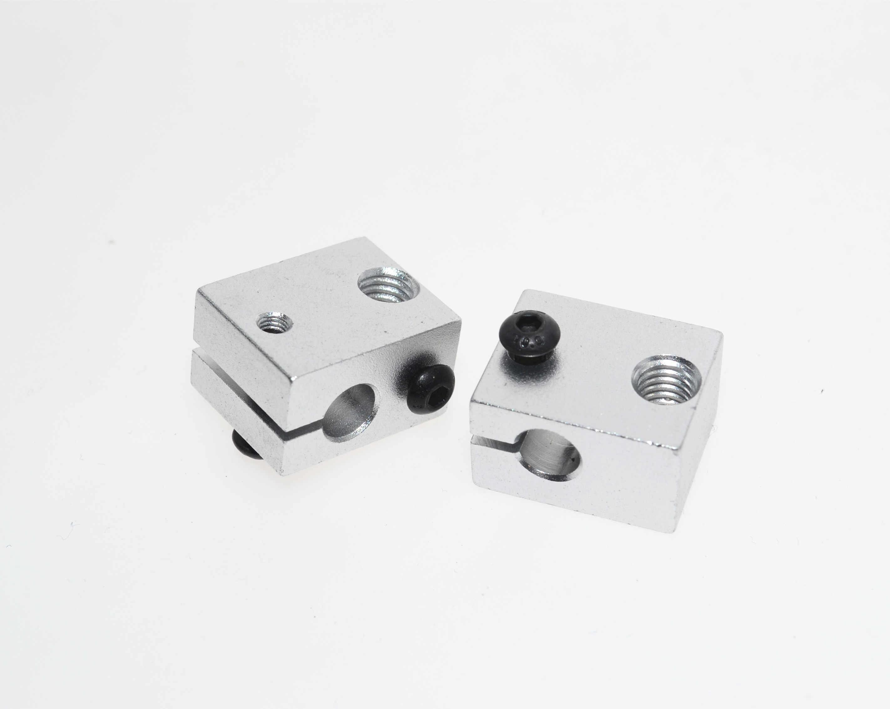Bloc thermique en Aluminium pour imprimante 3d E3D V6 j-head Makerbot MK7/MK8 extrudeuse 16mm * 16mm * 12mm livraison gratuite!!!