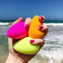 1 Pcs Water Drop Shape Cosmetic Puff Makeup Sponge Blender Face Foundation Cream Blending Cosmetic Powder Puff(China)
