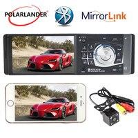 radio cassette player 4.1 inch car radio mp5 mp4 player support Bluetooth/AUX/TF card 1 DIN Auto radio Autoradio auto tapes