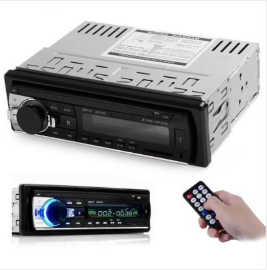 12V Bluetooth V2.0 Car Stereo Audio In-dash Single Din FM Receiver Aux Input Receiver USB MP3 MMC WMA FLAC Radio Player
