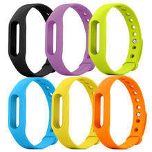 Free Shipping 1:1 Xiaomi Mi Band Wrist Wearable Strap Accessories Silicone For Miband