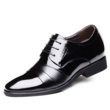 Factory direct Fashion sewing thread decoration British style mens leather shoes dealers in the increase men