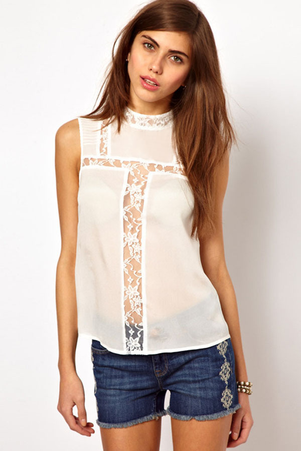 Womens sleeveless tops blouses breeze clothing for Sleeveless shirts for ladies