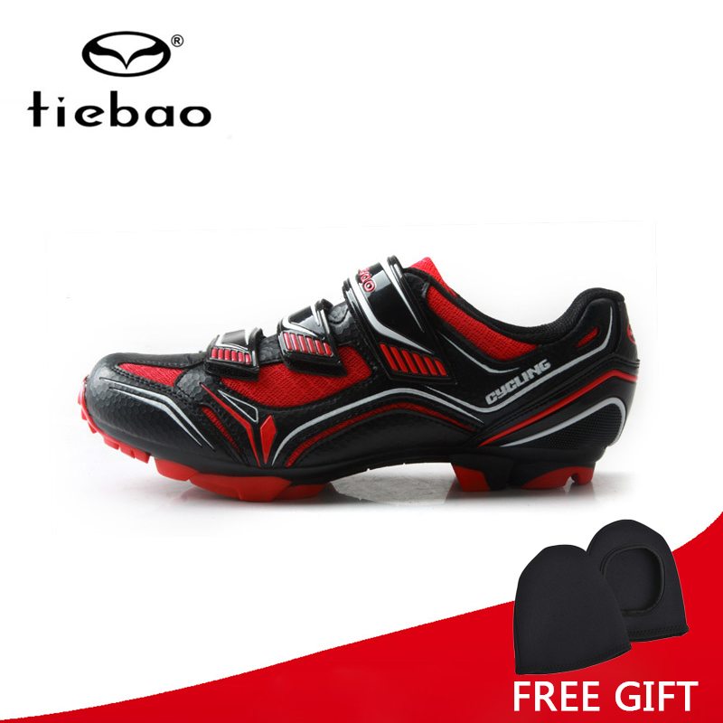 Tiebao Professional Cycling Shoes Breathable MTB Bike Shoes Auto-Lock Athletic Racing Bicycle Shoes Sneakers Sapatilha Ciclismo tiebao professional fg
