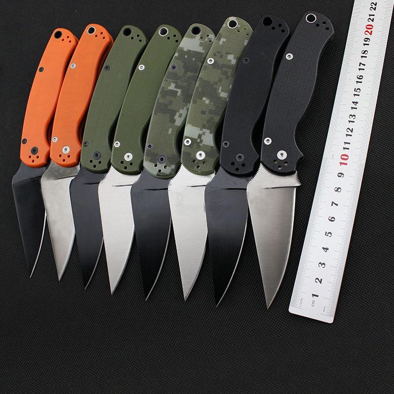 Venta caliente C81 58HRC CPM-S30V blade 2 colores G10 manejar 3 colores camping supervivencia cuchillo plegable al aire libre herramientas cuchillos tácticos