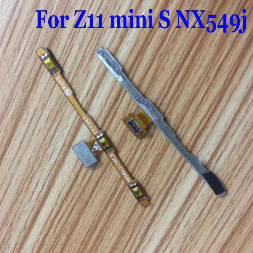 LTPro High Quality Tested Working Power Button On Off Volume Flex Cable For ZTE Nubia Z11 Mini S NX549j Phone Parts